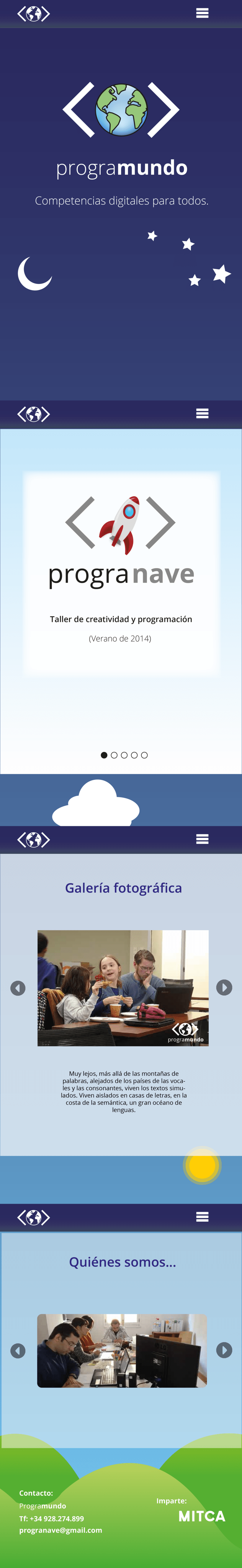 UI para diversas plataformas web / UI for several web platforms 0