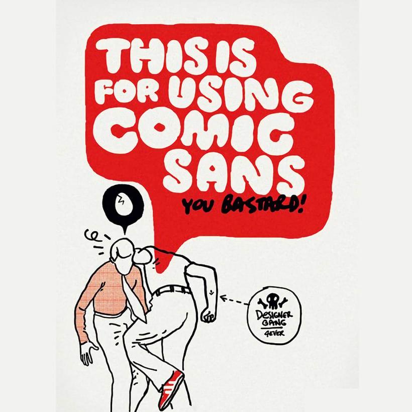 Una razón más para odiar la Comic Sans  0