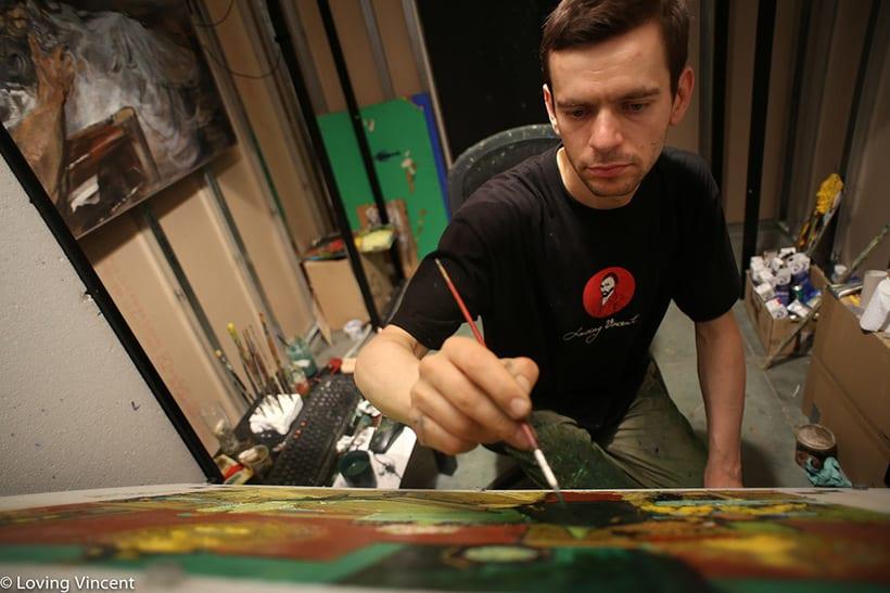 Loving Vincent: la primera película pintada al óleo cuadro por cuadro 6
