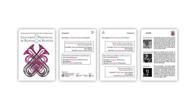 Federación de Bandas de Música de Burgos 1