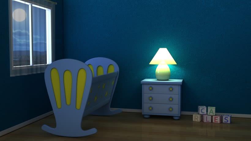 Room Baby 3D 0