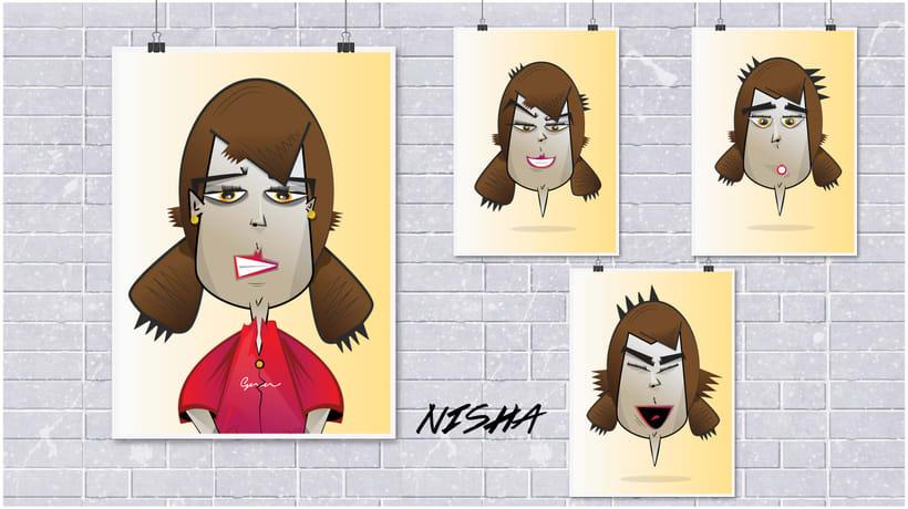 Nisha, cortometraje. 4