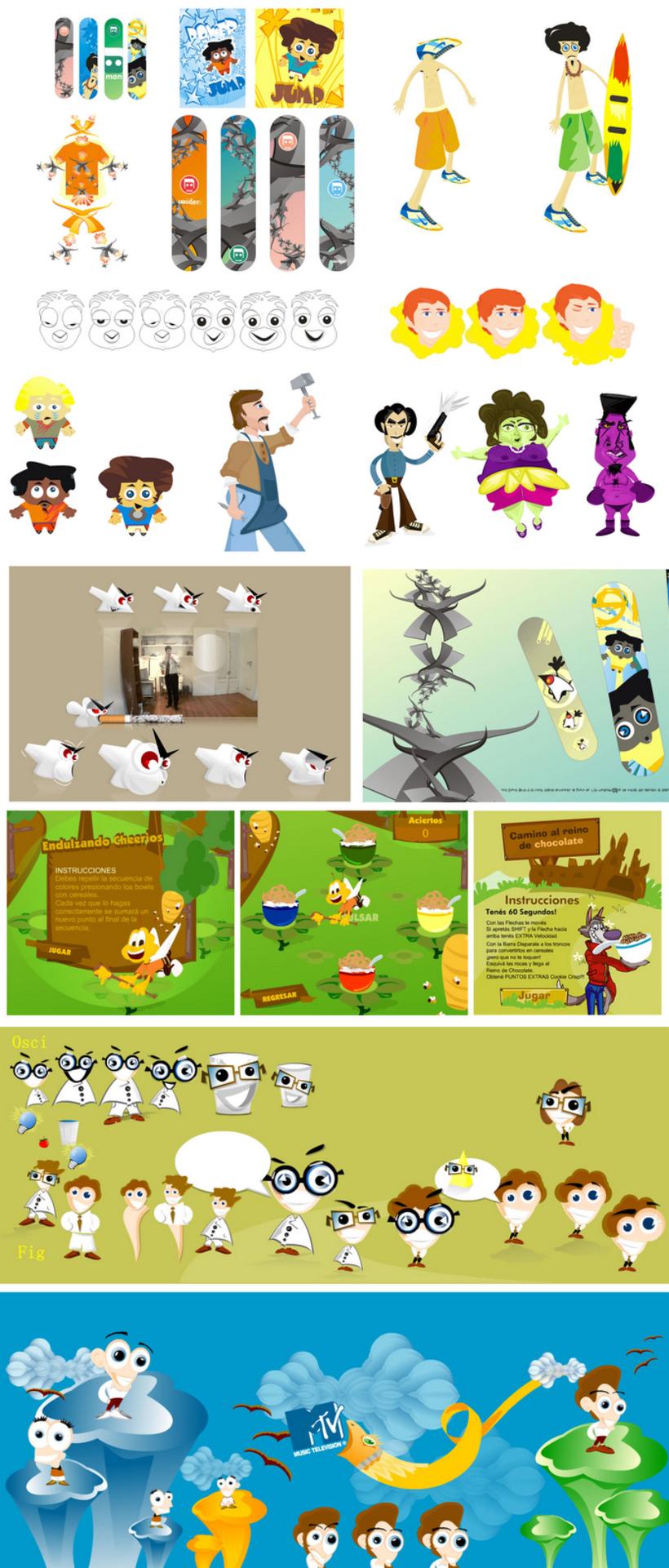 Ilustraciones, Mix 3