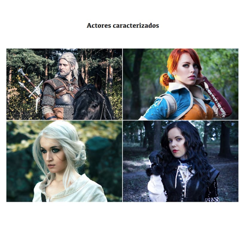"Campaña Lanzamiento ""The Witcher III: Wild Hunt"" 7"