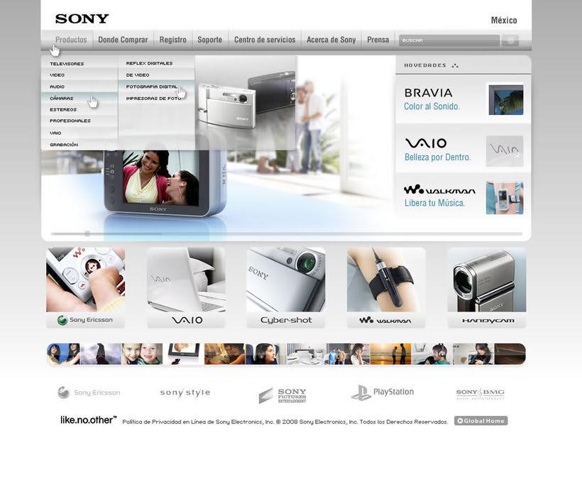 Sony, corporativo 0