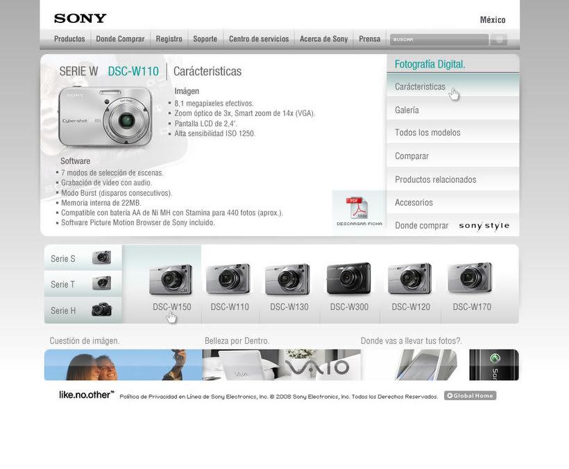 Sony, corporativo 2