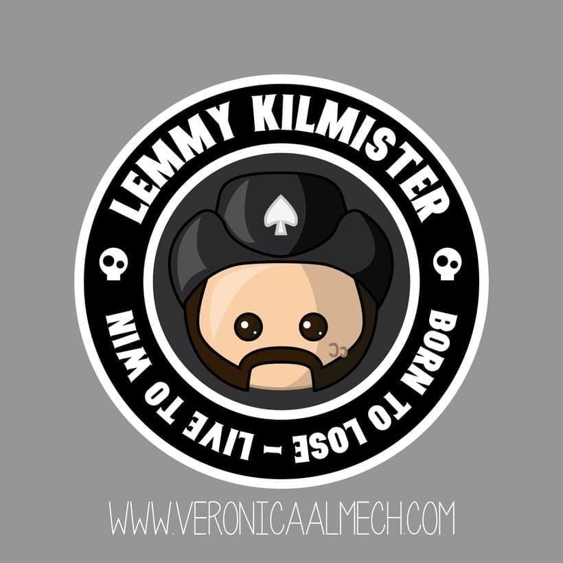 Homenaje a Lemmy Kilmister 1