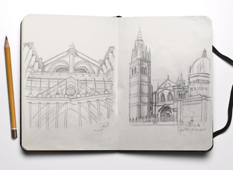 Sketchbook Toledo -1