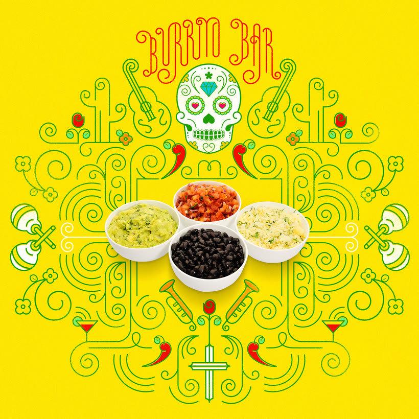 Burrito Bar Poster -1