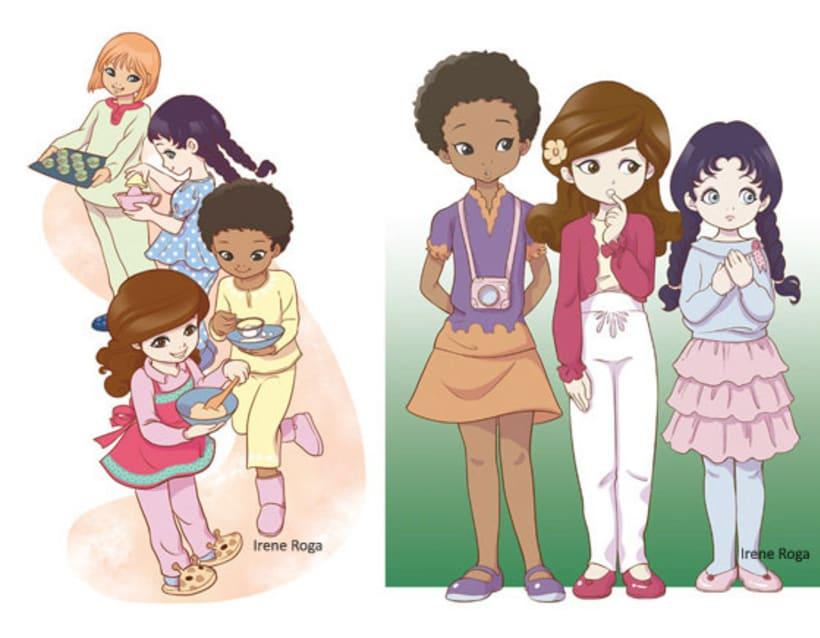 """""""Club Princesas del Cupcake"""" 1 4"""