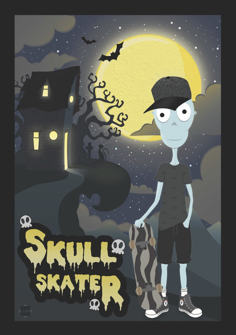 Skull Skater 0