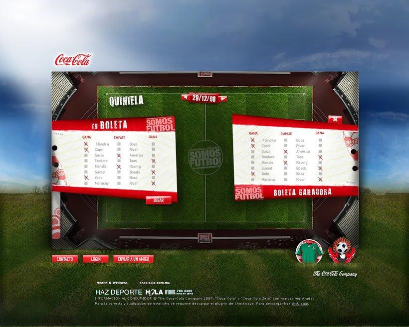 Coca-Cola Futbol. Mex 1