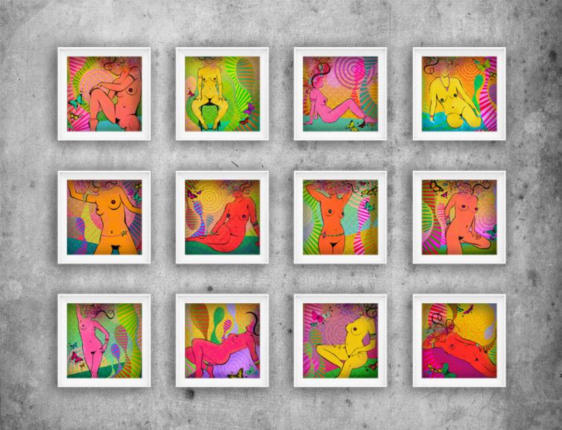 serie: 'desnudas' · ilustración digital 1
