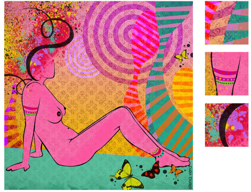 serie: 'desnudas' · ilustración digital 4
