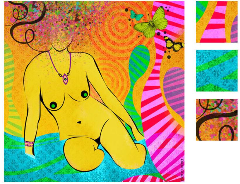 serie: 'desnudas' · ilustración digital 6