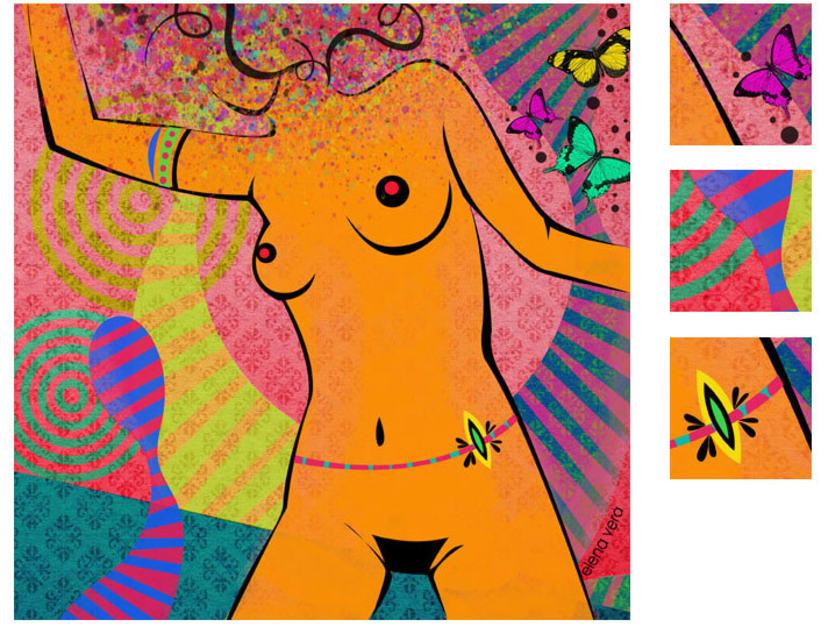 serie: 'desnudas' · ilustración digital 5
