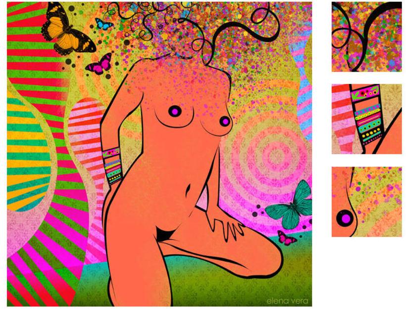 serie: 'desnudas' · ilustración digital 13