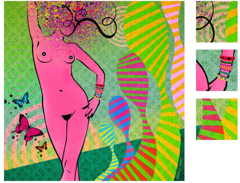serie: 'desnudas' · ilustración digital 10