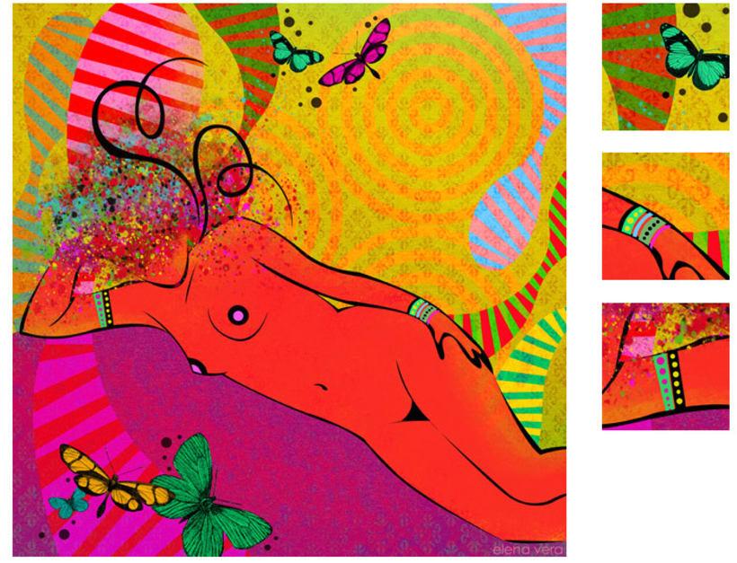 serie: 'desnudas' · ilustración digital 12