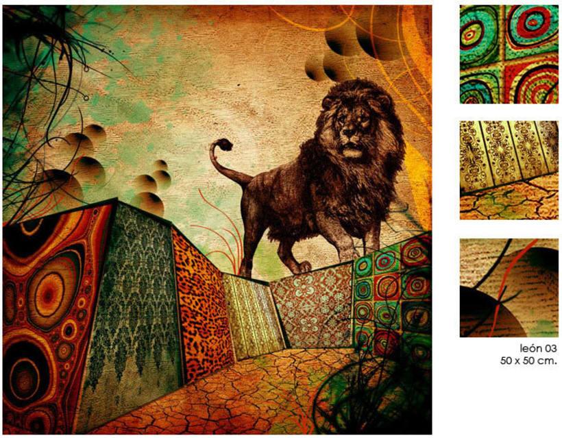 cabras, león y tigres 14