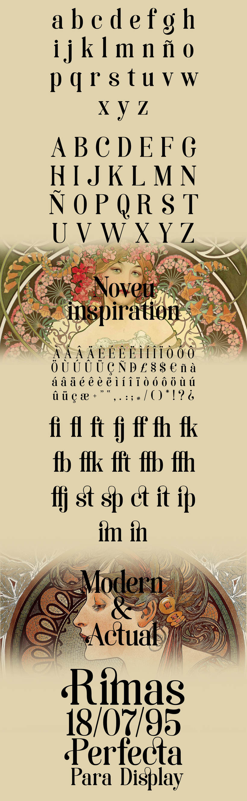 Soria- Free noveau typeface 1