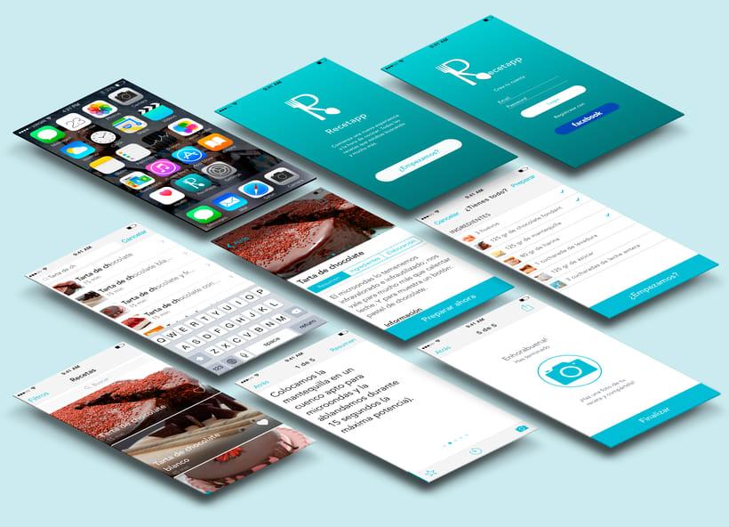 App de Recetas iOS 1