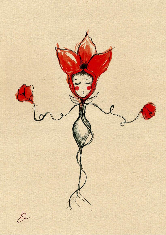 Ilustración fantástica: personajes femeninos. 2