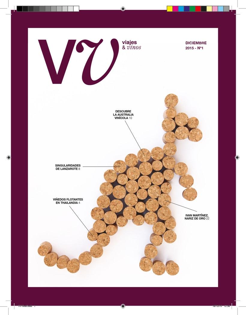Revista vinos y viajes 0