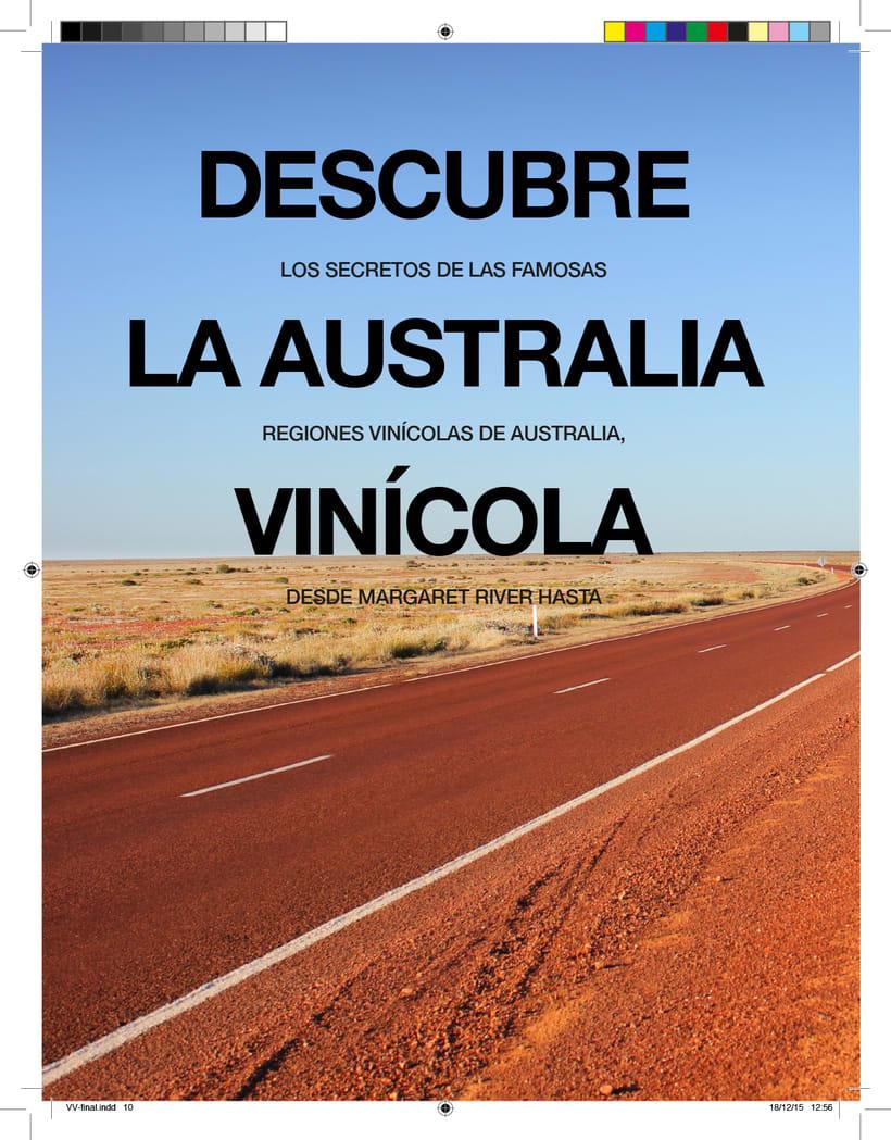Revista vinos y viajes 1