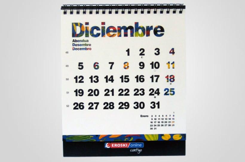 Calendario Eroski   2