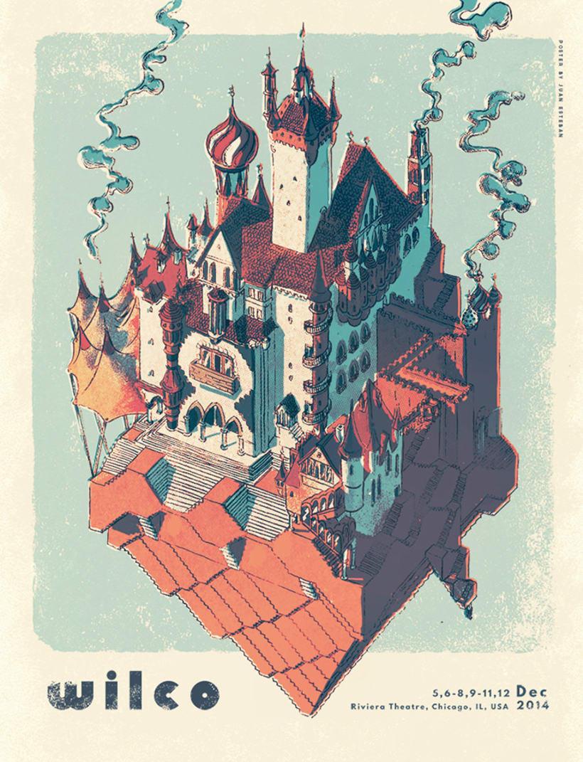 Juan Esteban congela el tiempo en misteriosas ilustraciones 5