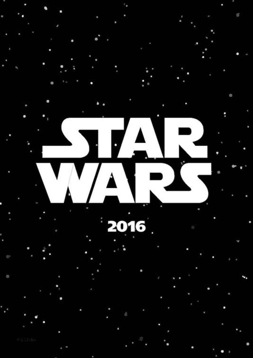 Calendario Star Wars 2016 1