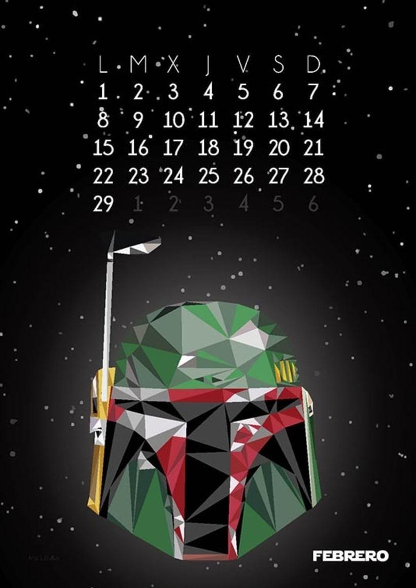 Calendario Star Wars 2016 3