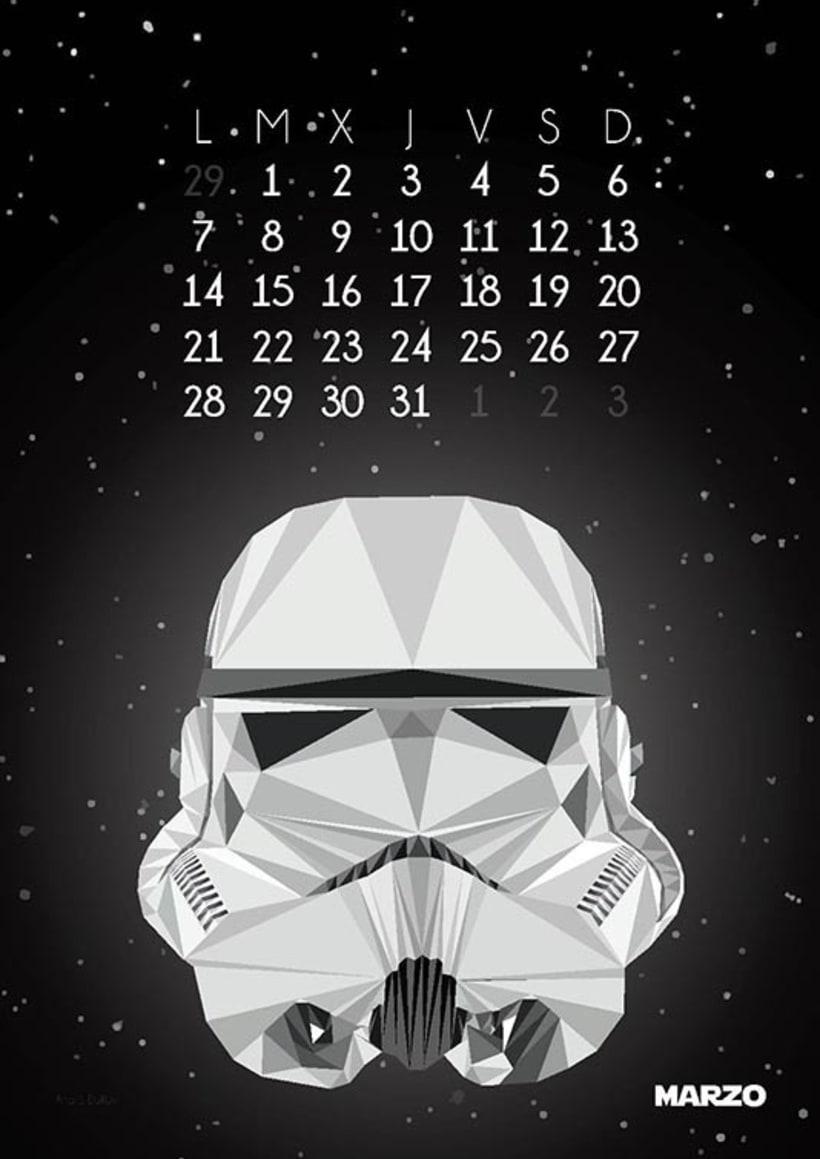 Calendario Star Wars 2016 4