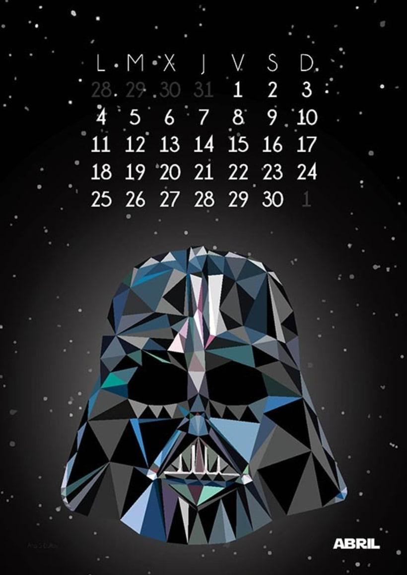 Calendario Star Wars 2016 5