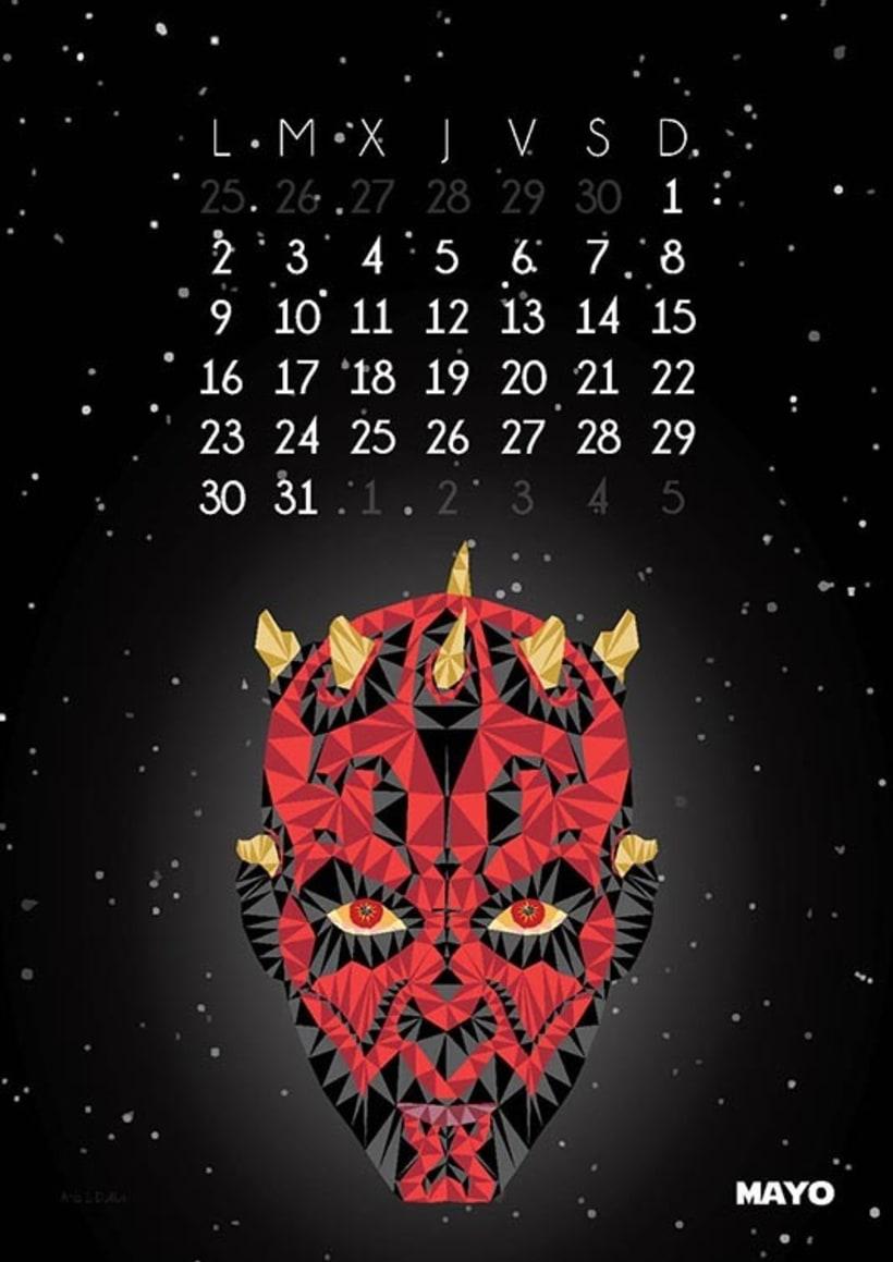 Calendario Star Wars 2016 6