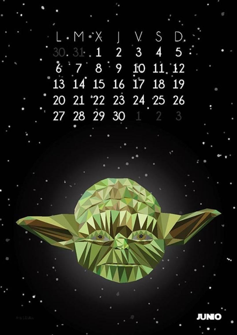 Calendario Star Wars 2016 7