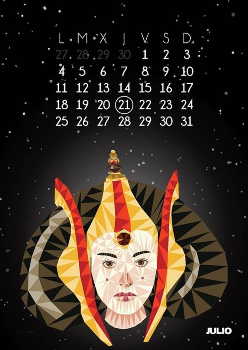 Calendario Star Wars 2016 8