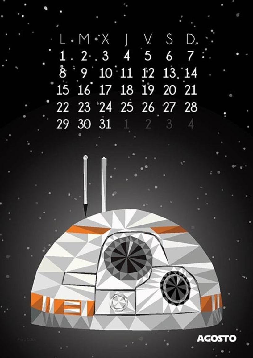 Calendario Star Wars 2016 9