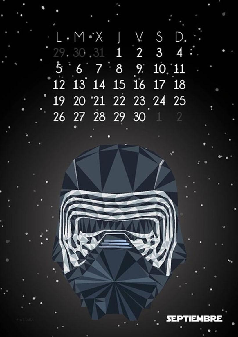 Calendario Star Wars 2016 10
