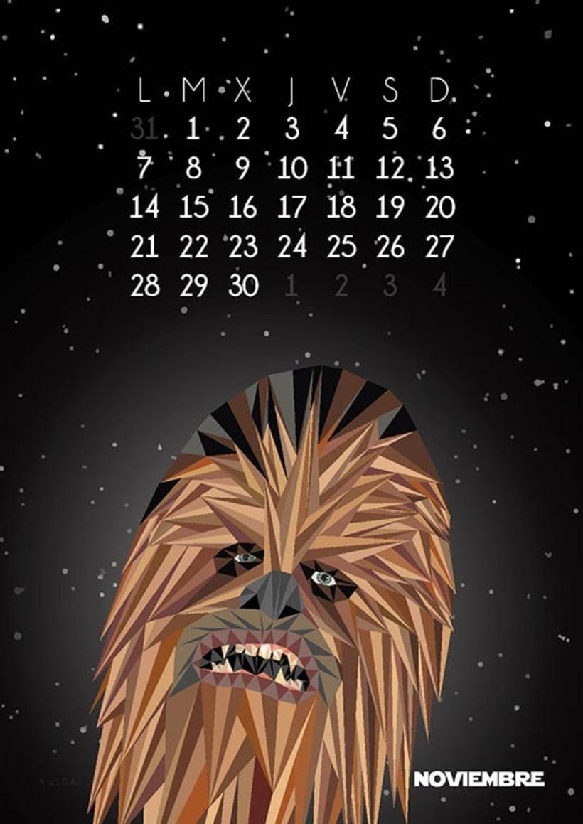 Calendario Star Wars 2016 12