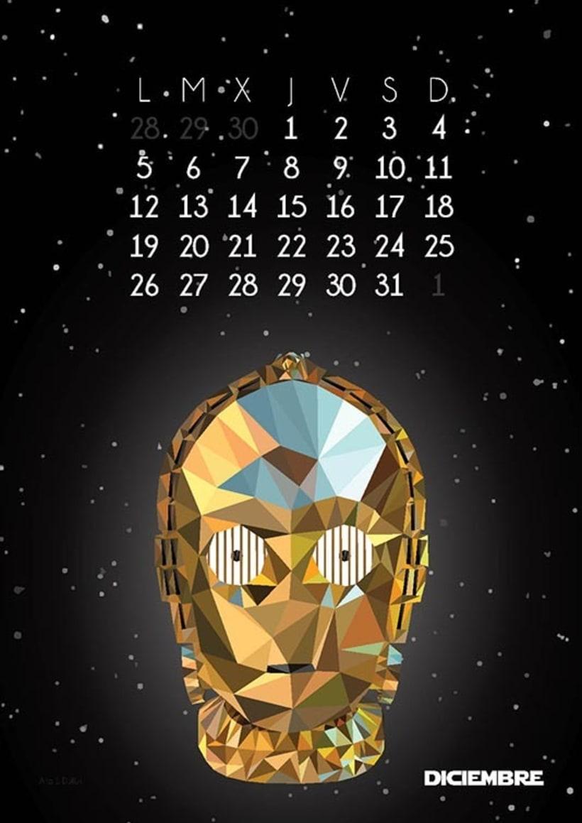 Calendario Star Wars 2016 13