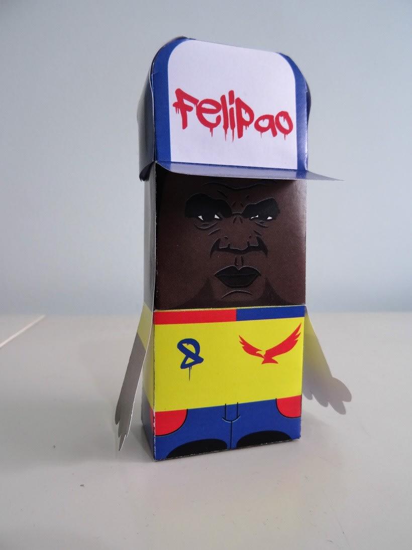 """""""La Liga"""" paper toys 15"""