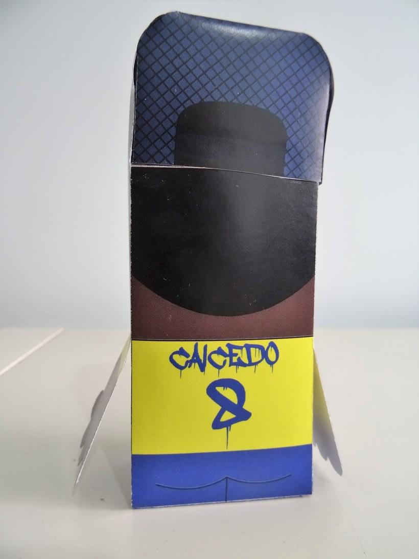 """""""La Liga"""" paper toys 16"""