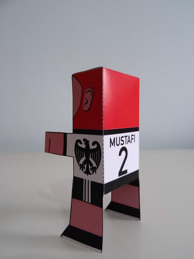 """""""La Liga"""" paper toys 18"""