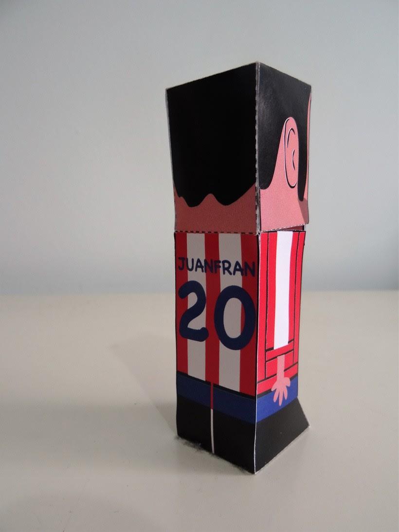 """""""La Liga"""" paper toys 25"""