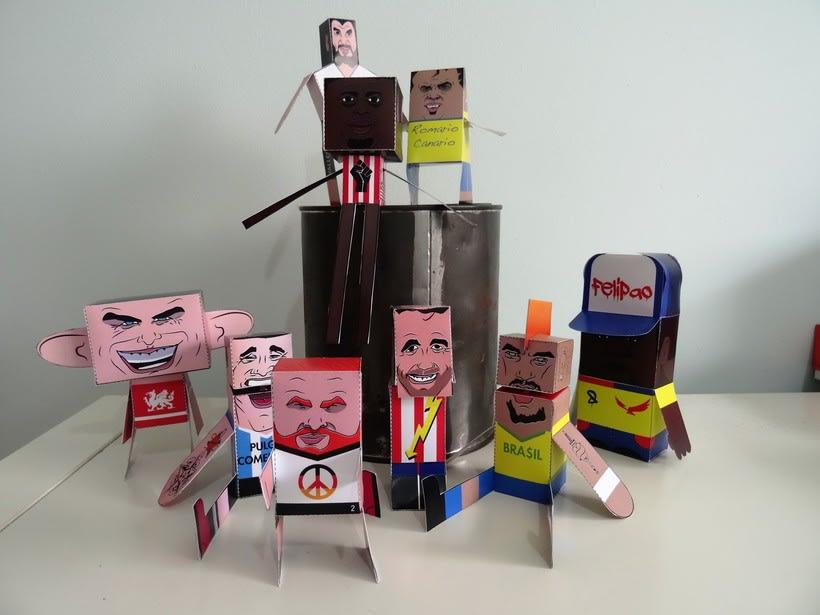 """""""La Liga"""" paper toys 29"""