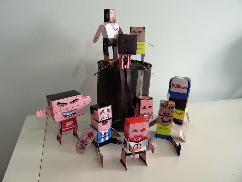 """""""La Liga"""" paper toys 31"""