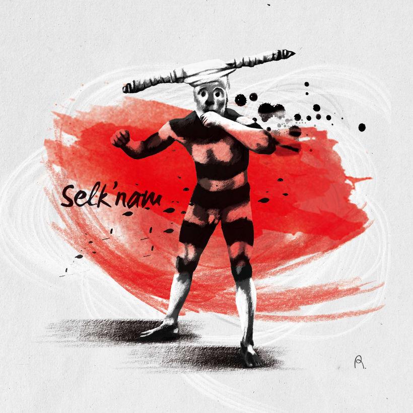 Selk'nam. Encargo Editorial -1