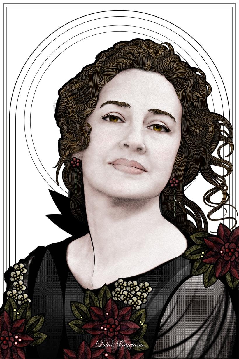 Portrait Lola Montejano -1